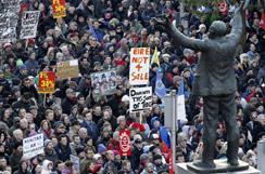 Ireland protests