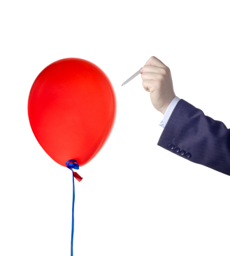 Balloon Pop with a Pin