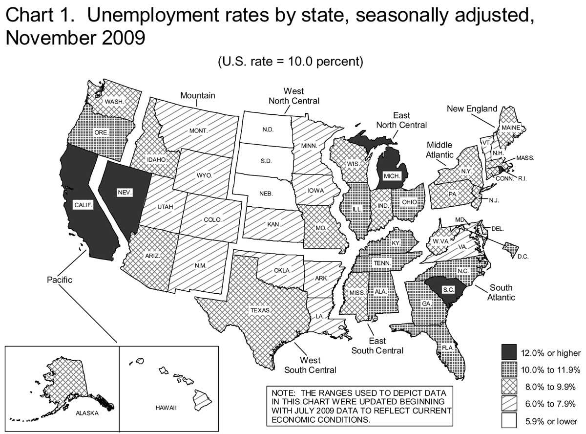 state unemployment 11-09