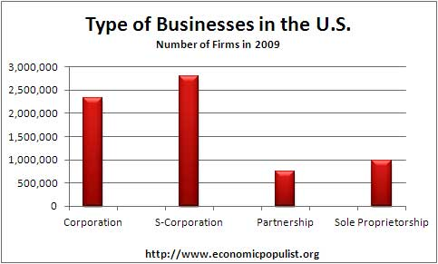 type of business 2009