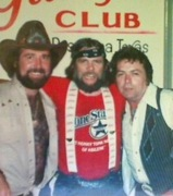 Johhny Paycheck and friends at Gilley's 1978