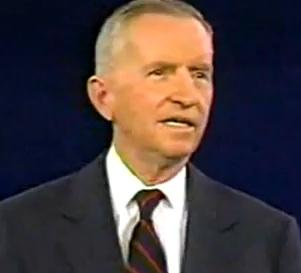 Perot 1992 at presidential debate
