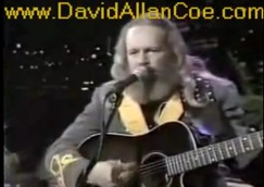 David Allan Coe video (1983) DavidAllanCoe.com free at YouTube